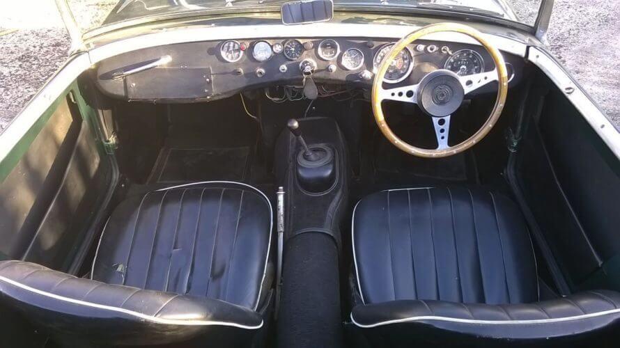 1958 Austin Healey Sprite interior