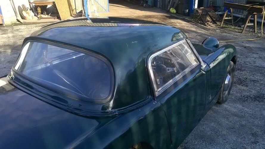 1958 Austin Healey Sprite hardtop