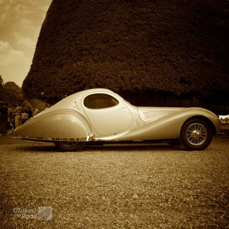 A look back at the 2014 Concours of Elegance 1938 Talbot-Lago T150C-SS