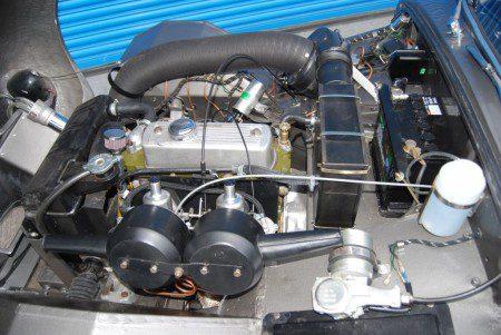 Sprinzel Sebring Sprite engine bay