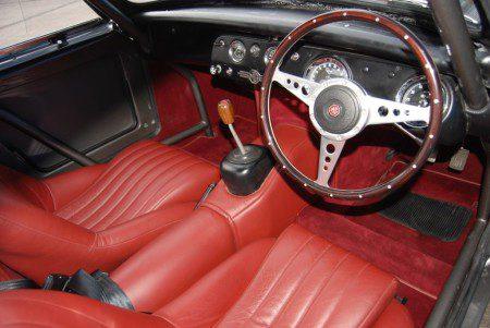 Sprinzel Sebring Sprite interior