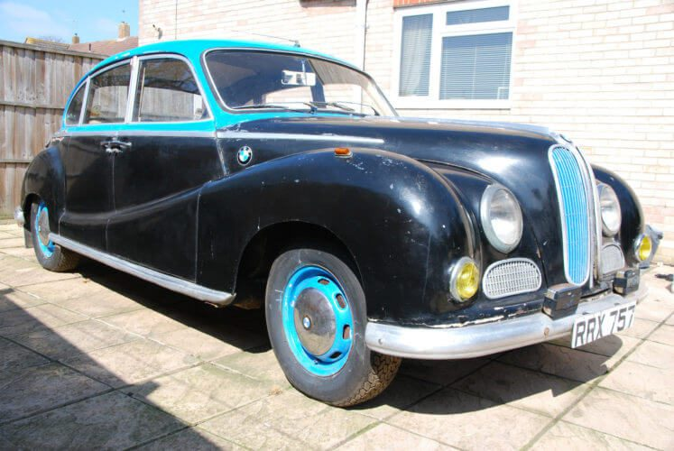 1955 BMW 502