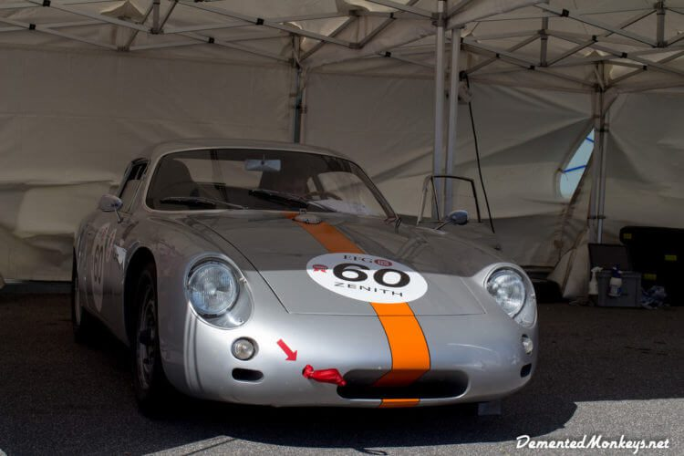 Porsche 356B Abarth GLT at Vallelunga Classic 2015