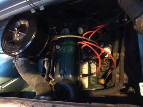1964 Renault 8 Gordini engine bay