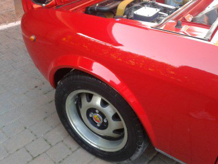 1973 Fiat 124 Sport Coupe with Abarth ATS alloys