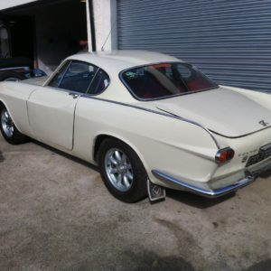 1964 Volvo P1800S rally car