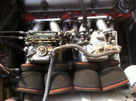 1964 Volvo P1800S rally car twin Weber carbs
