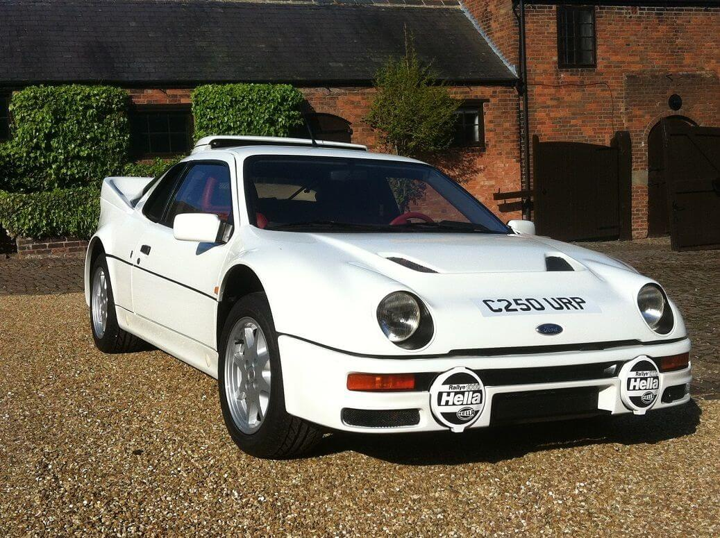 Collector Series 1986 Ford Rs200
