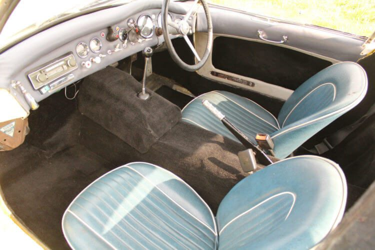 1962 Ashley Sportive GT interior
