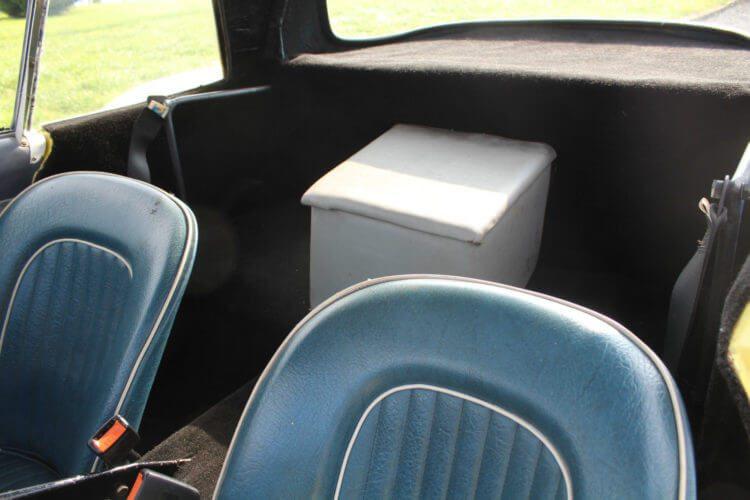 1962 Ashley Sportive GT rear seats