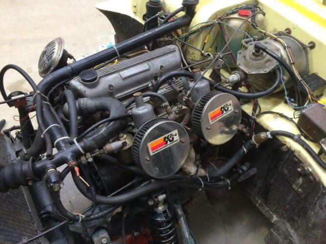1962 Ashley Sportive GT engine bay