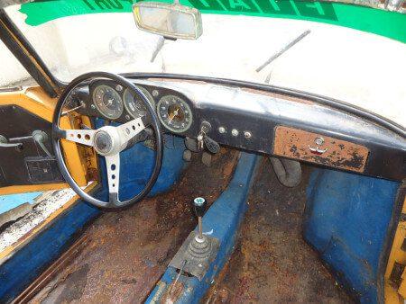 1963 Cisitalia 850 GT Spider interior