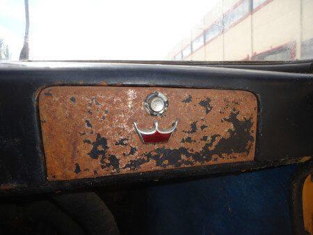 1963 Cisitalia 850 GT Spider dashboard