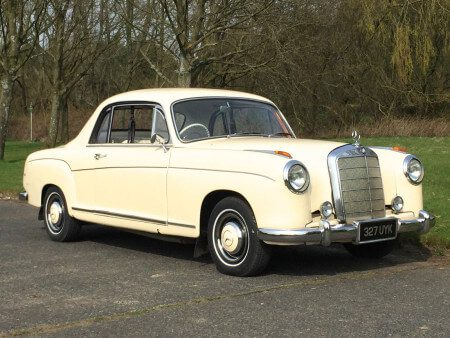 1959 Mercedes 220s Coupe
