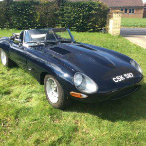 1962 Jaguar E-Type Series 1 Lightweight Recreation