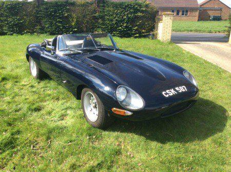 1962 Jaguar E-Type Series 1 Lightweight Recreation