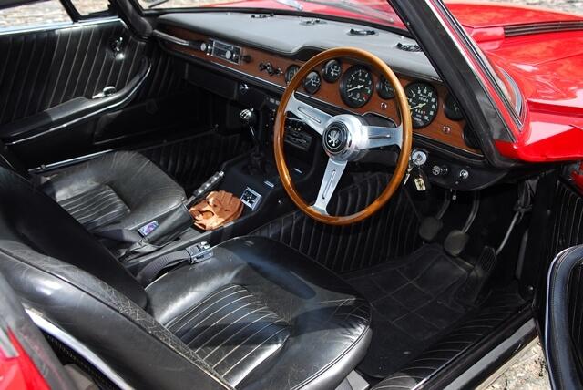 1968 Iso Grifo 7 Litre interior