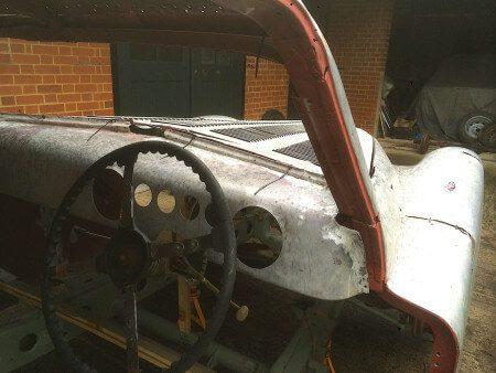 1950 Talbot Lago T26 Coupe interior