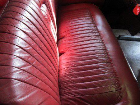 1953 Delahaye 235 leather seats