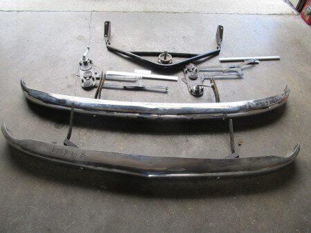 1953 Delahaye 235 bumper spares