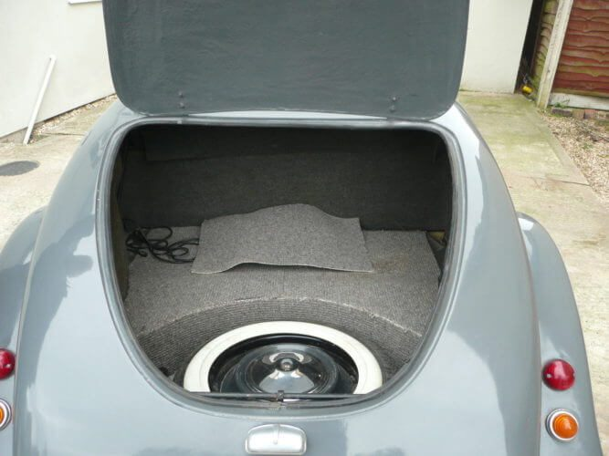 1985 Citroen 2CV Hoffman Convertible boot