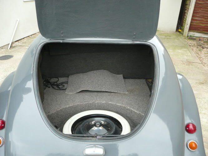 1985 Citroen 2CV Hoffman Convertible boot