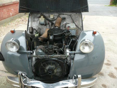 1985 Citroen 2CV Hoffman Convertible engine bat
