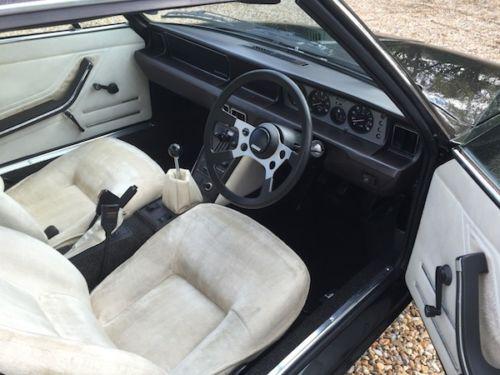 1978 Fiat x1/9 Lido interior