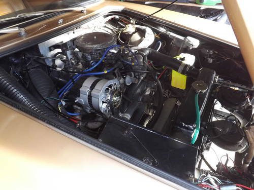 1971 Gilbern Invader Mk2 engine