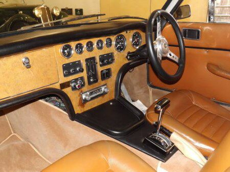 1971 Gilbern Invader Mk2 interior