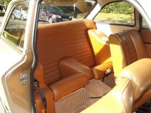 1971 Gilbern Invader Mk2 rear seats