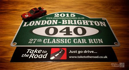Take to the Road London to Brighton Classic Car Run 2015