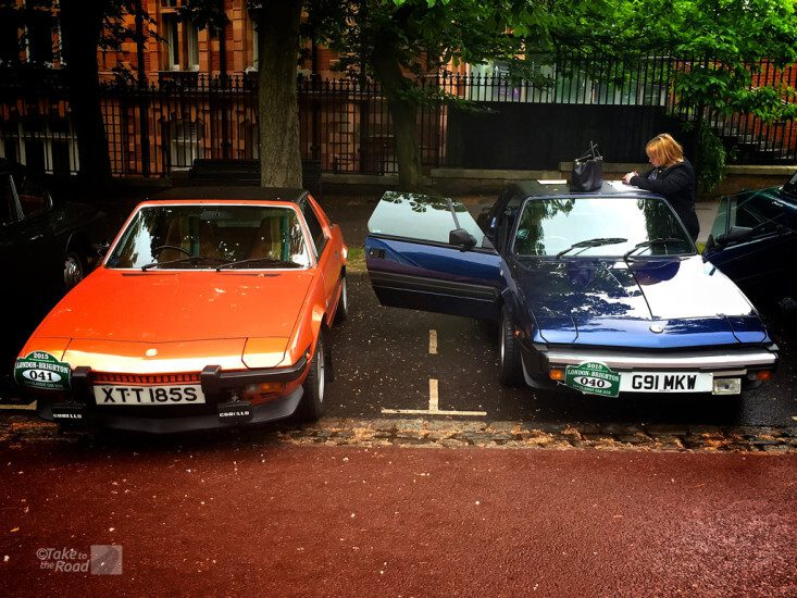 Fiat x1/9 1300 and Bertone x1/9 Gran Finale at the London to Brighton Classic Car Run