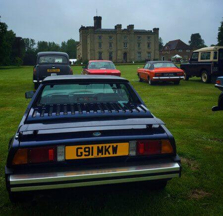 Bertone x1/9 Gran Finale at Chiddingstone Castle