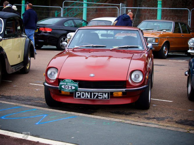 Datsun 240Z at the London to Brighton Classic Car Run
