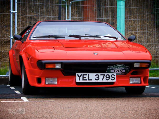 Lamborghini Silhouette at the London to Brighton Classic Car Run