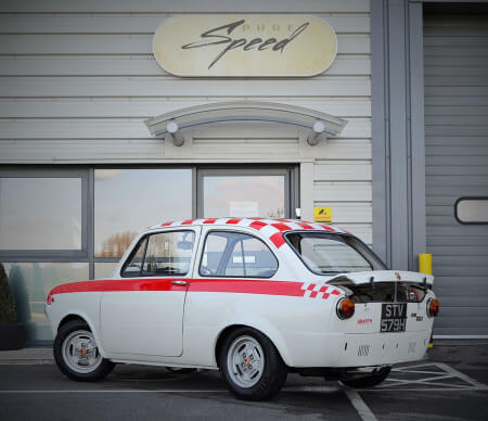 1969 Fiat 850 Abarth recreation