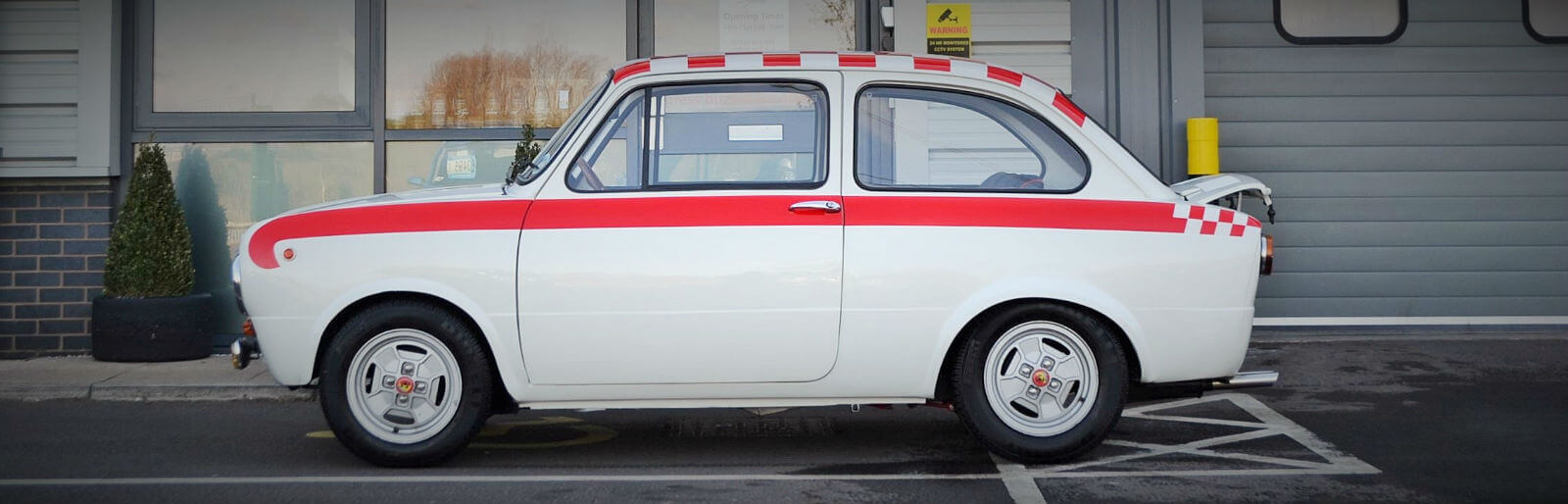 Vaak Take to the Road Classifieds find: 1969 Fiat 850 Abarth JS27