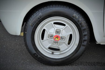 1969 Fiat 850 Abarth alloys wheel