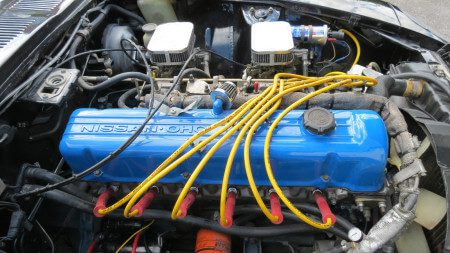 1974 Datsun 260Z engine