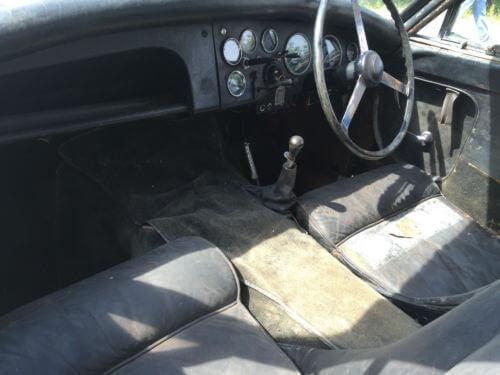 1956 Jensen 541 interior