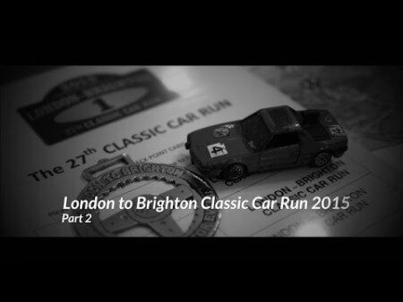 London to Brighton Classic Car Run