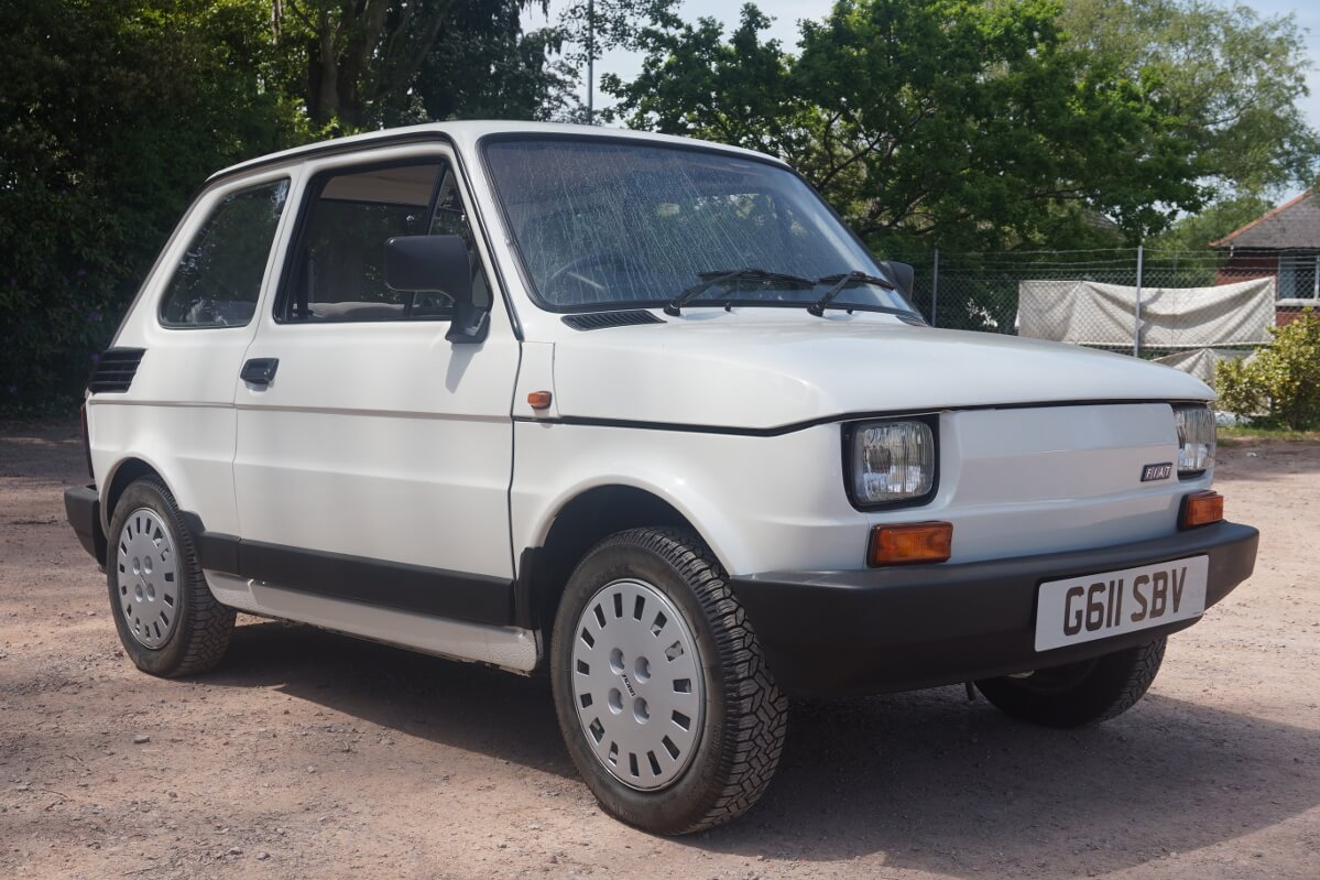 Image Gallery Fiat 500 1990