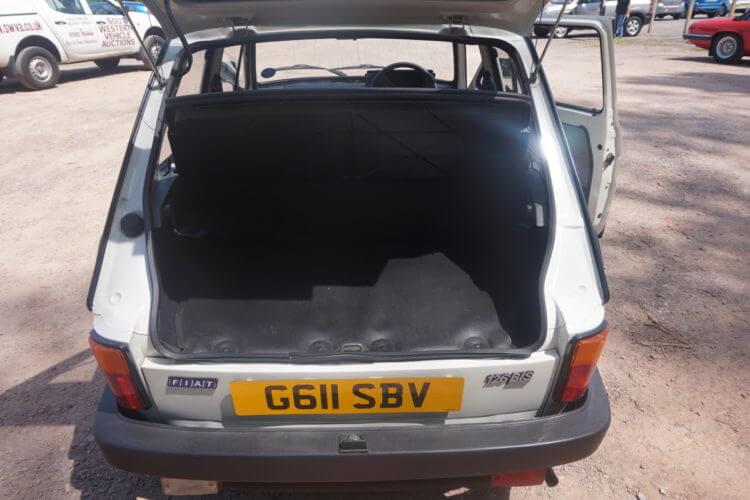 1990 Fiat 126 BIS boot