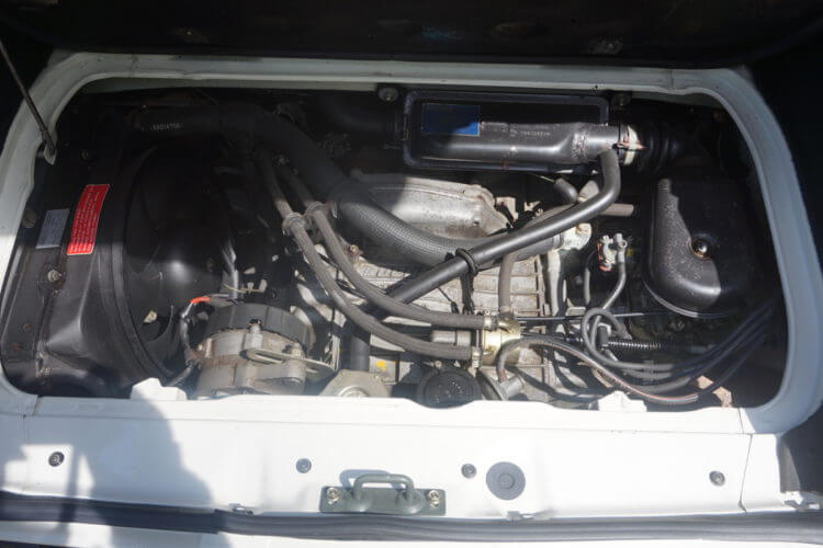 1990 Fiat 126 BIS engine bay