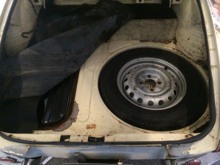 1967 Alfa Romeo Duetto boot