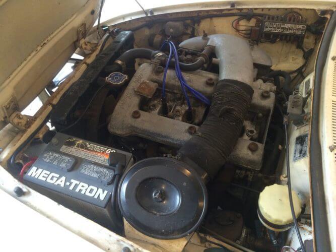 1967 Alfa Romeo Duetto engine bay