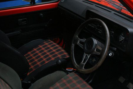 1979 VW Golf GTi Mk1 Series 1 interior