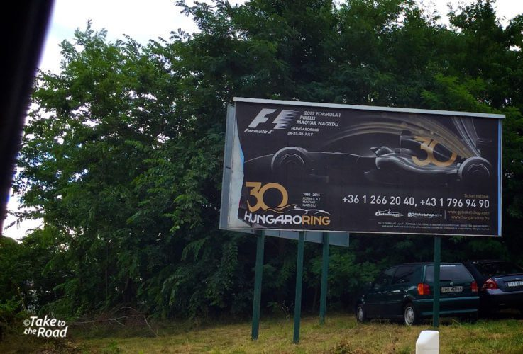 Take to the Road at the Hungarian Grand Prix