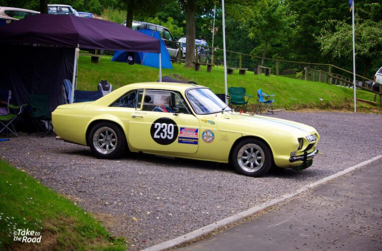 Reliant Scimitar at Prescott Speed Hill Climb 2015